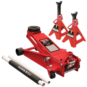 3.5 Ton Capacity Service Jack with Quick Lifting System
