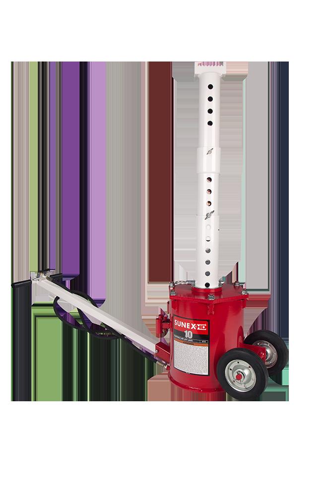 10 Ton Portable Air Lift Jack Sunex Tools
