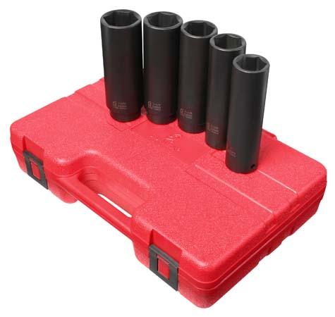 Sunex 234xd 1//2 Drive 1-1//16 Extra Deep Impact Socket