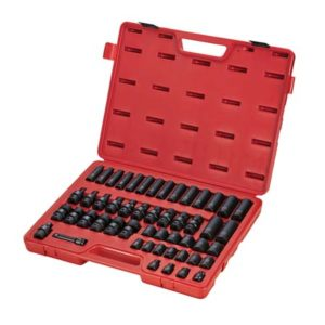 "3/8"" Dr. 51pc Metric Impact Socket Set"