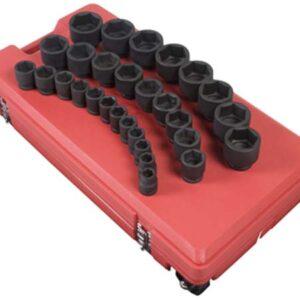"3/4"" Dr. 29 Pc. SAE Impact Socket Set"