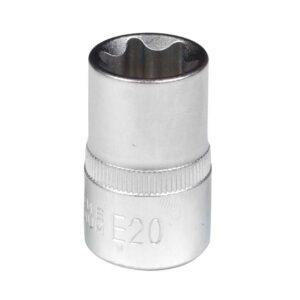 "1/2"" Dr. E20 External Star Socket"