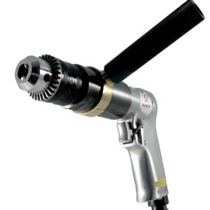 "1/2"" Reversible Air Drill w/Geared Chuck"