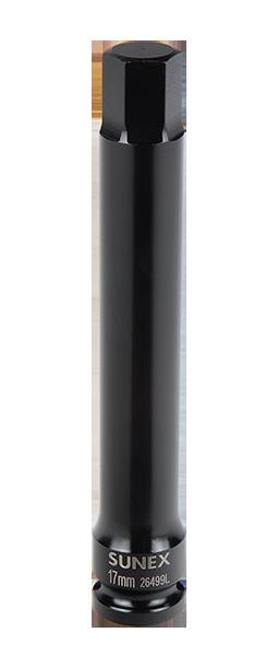 "Sunex 26499 1//2/"" Dr 17 mm Hex Drive Impact Socket"